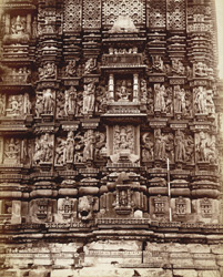 Carvings of [Parsvanatha temple] Khujraho temples.